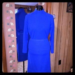 Vintage 1970s Wool Skirt Set